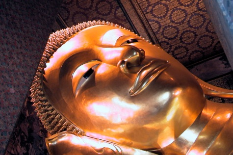 Lying Buddah Closeup