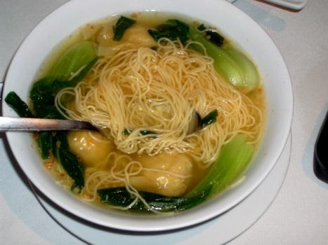 Vat of Wonton Soup