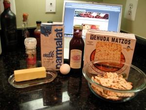 Matzoh Brei Ingredients